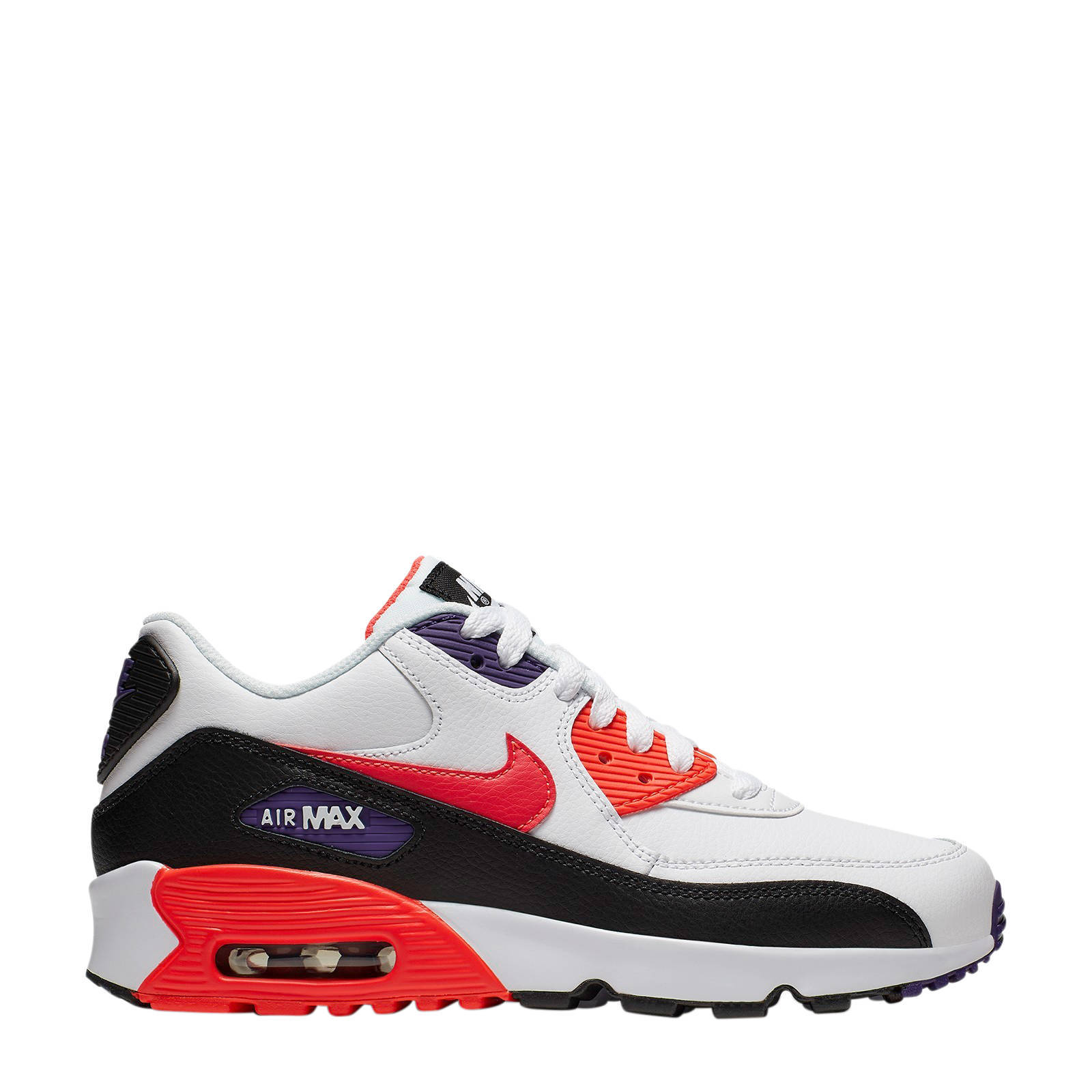 nike air max rood zwart wit