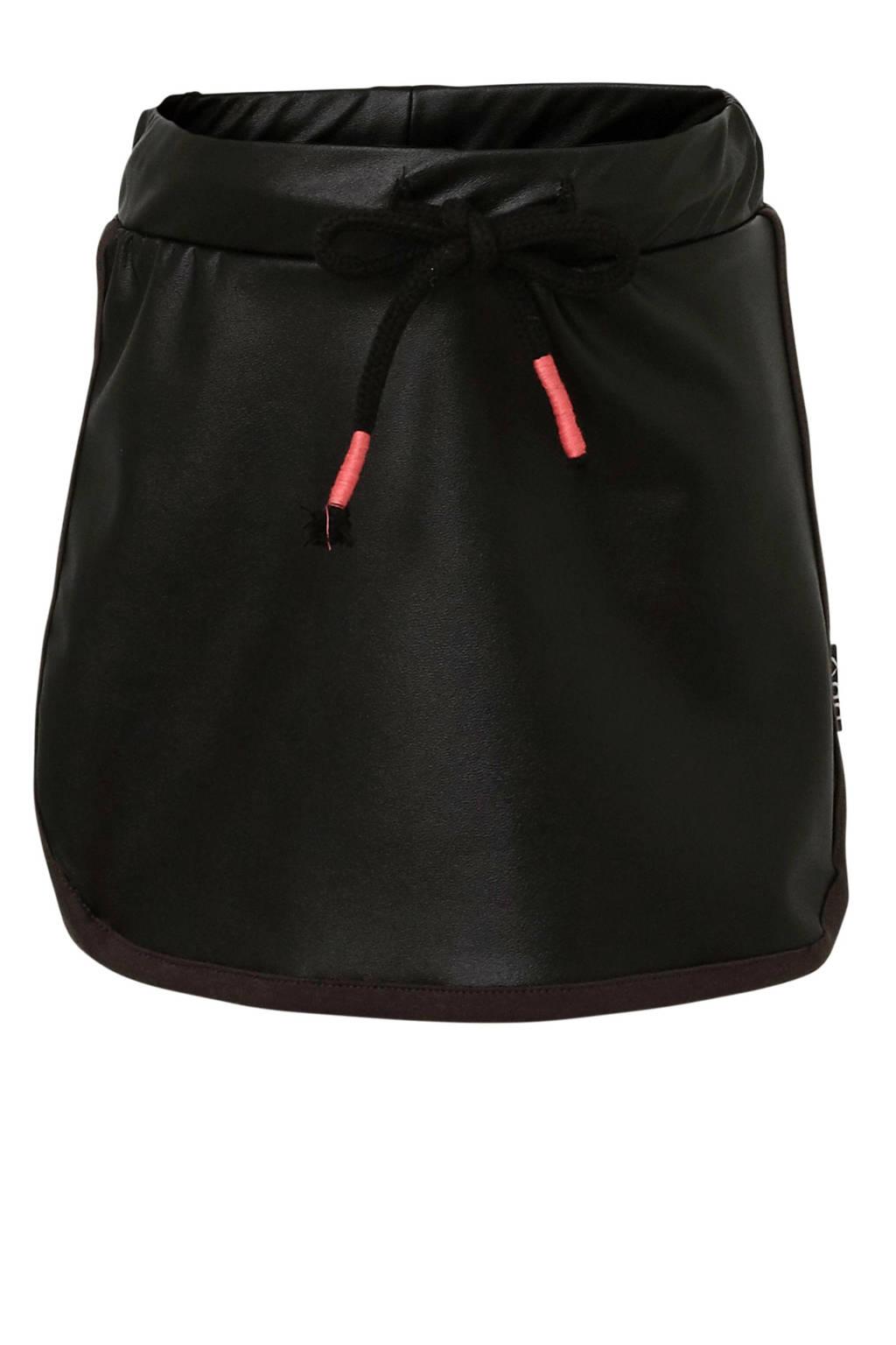 Beebielove rok van imitatieleer zwart, Zwart
