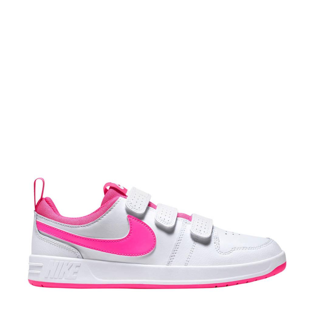 Nike  PICO 5 sneakers wit/fuchsia, Wit/fuchsia