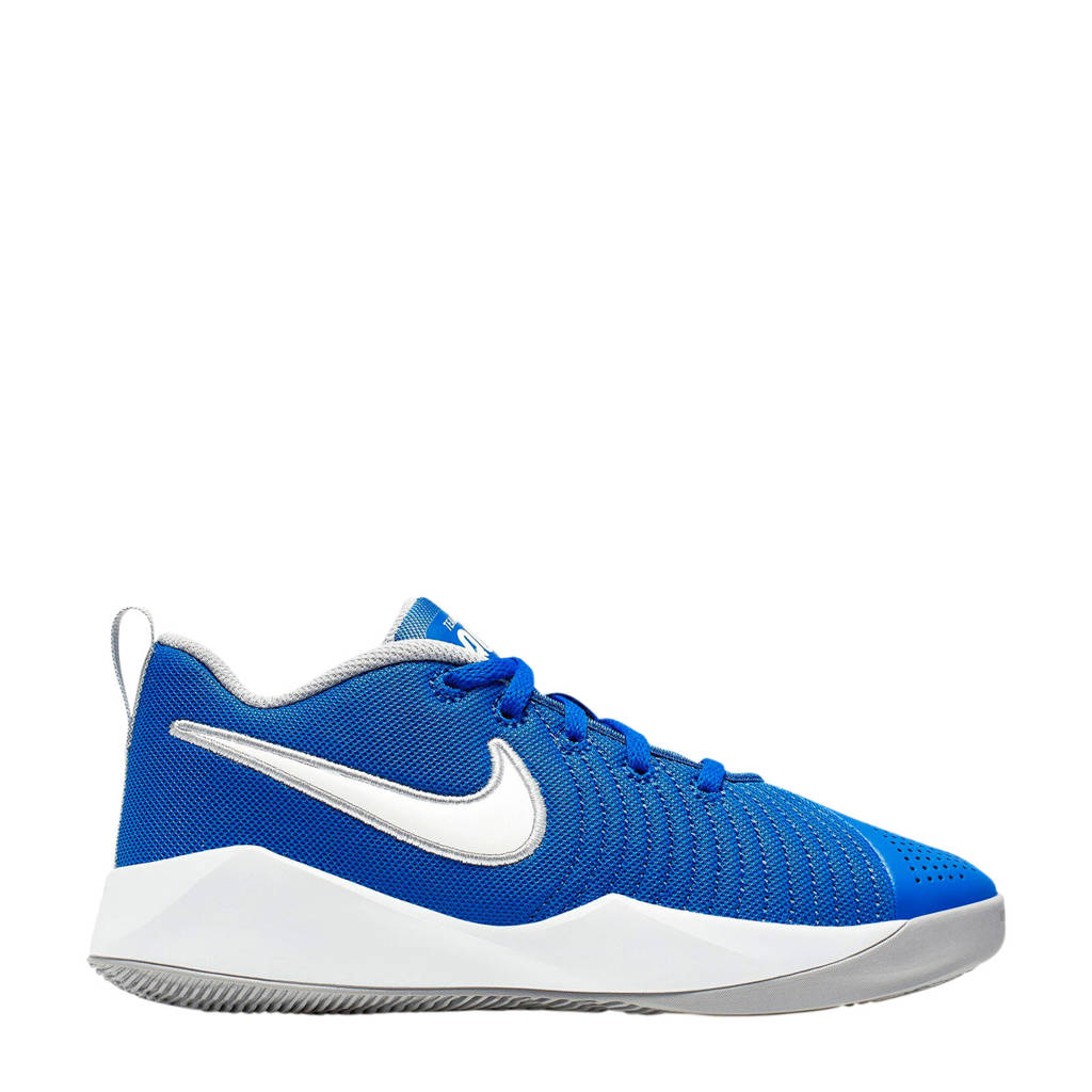 Nike TEAM HUSTLE QUICK 2  sneakers blauw, Blauw/wit