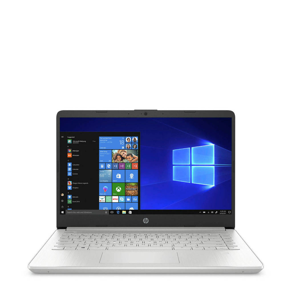 HP  14 inch Full HD laptop 14S-DQ0610ND, Zilver