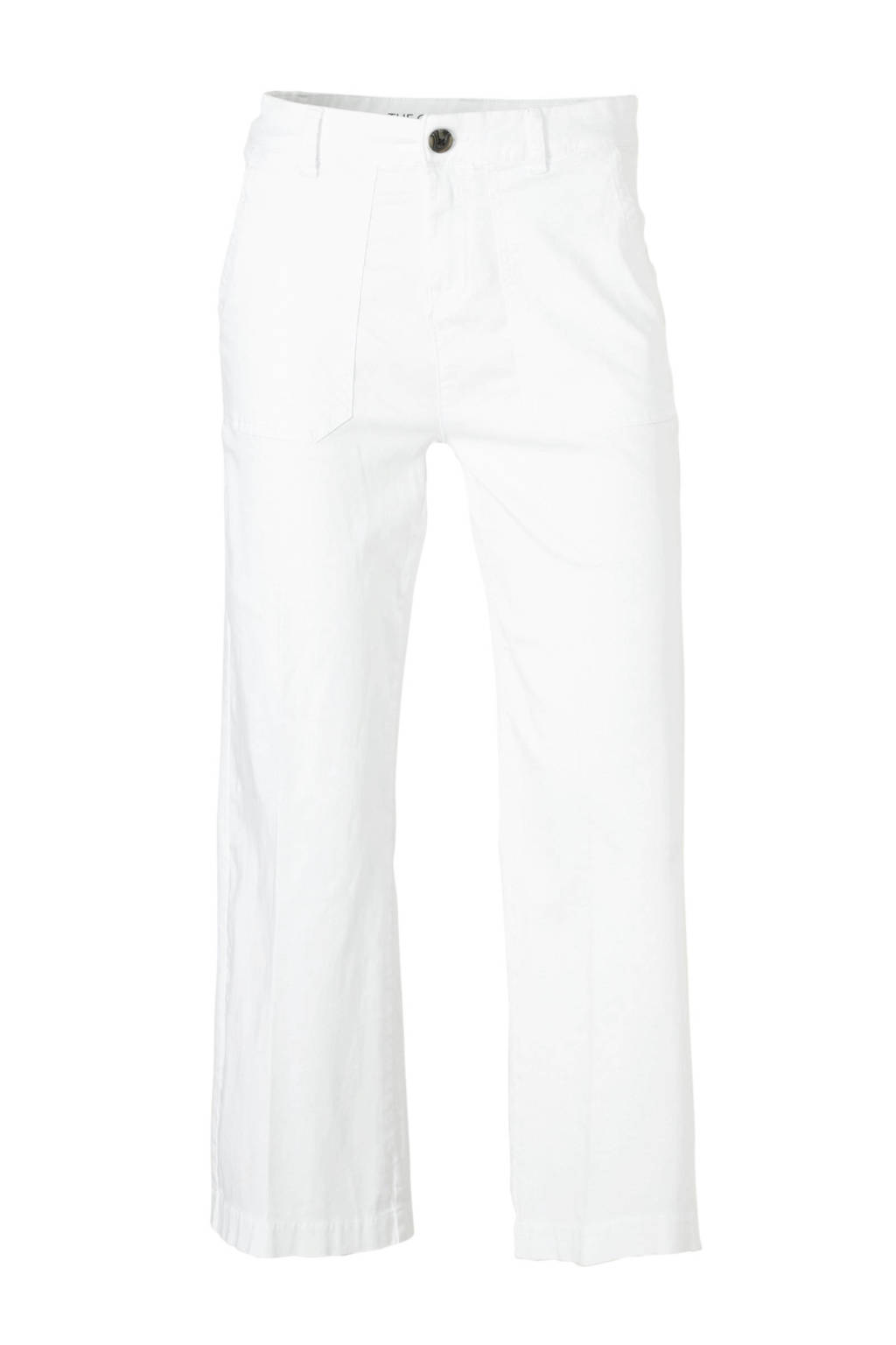 C&A Yessica straight fit capri wit, Wit