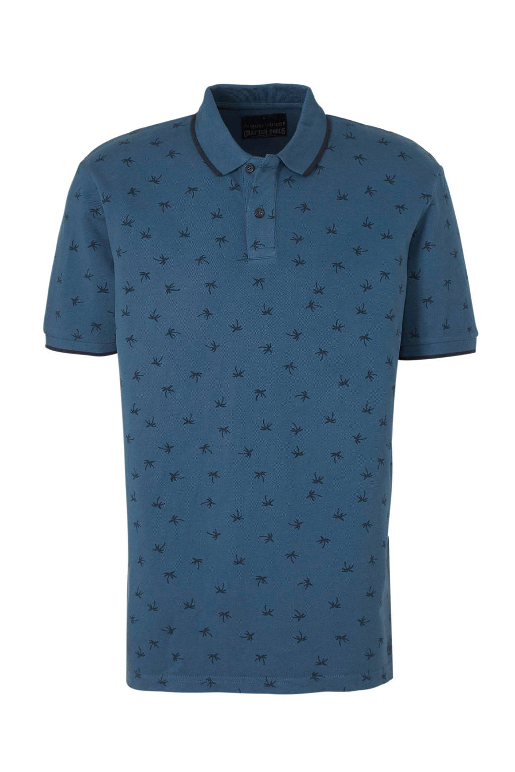 C&A Angelo Litrico polo donkerblauw, Donkerblauw
