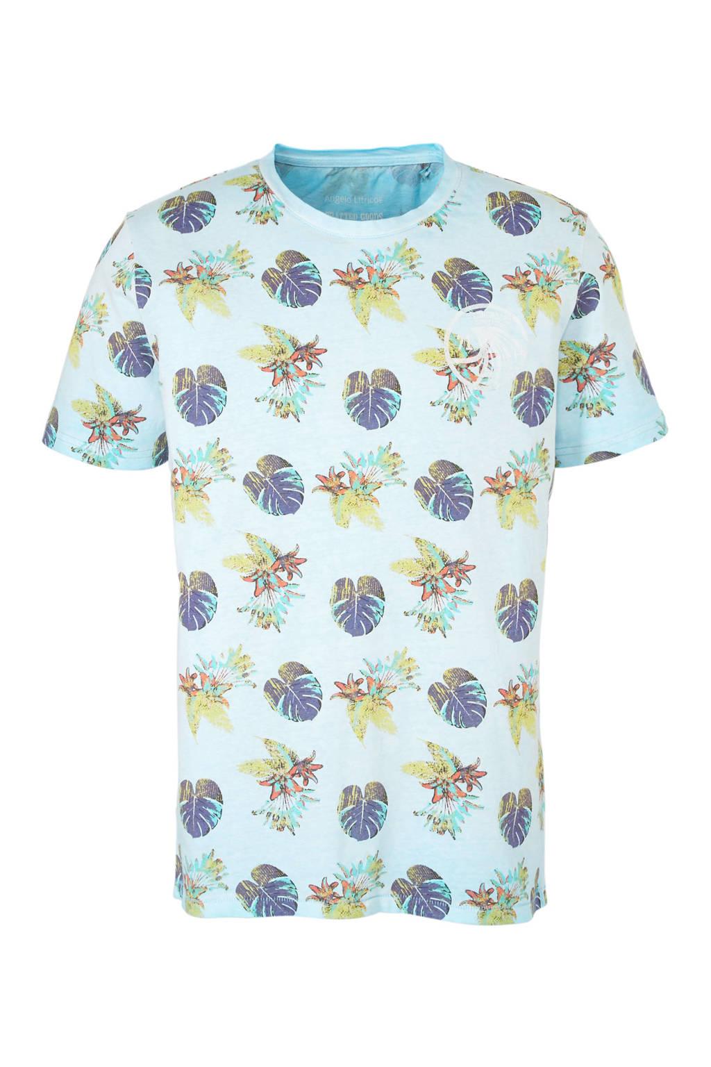 C&A Angelo Litrico T-shirt lichtblauw, Lichtblauw