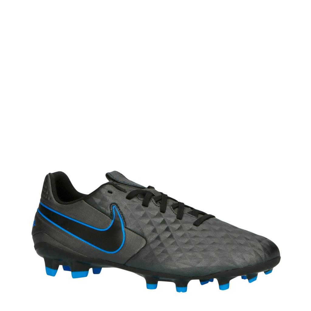 Nike  Sr. Legend 8 Academy FG/MG voetbalschoenen zwart, Zwart