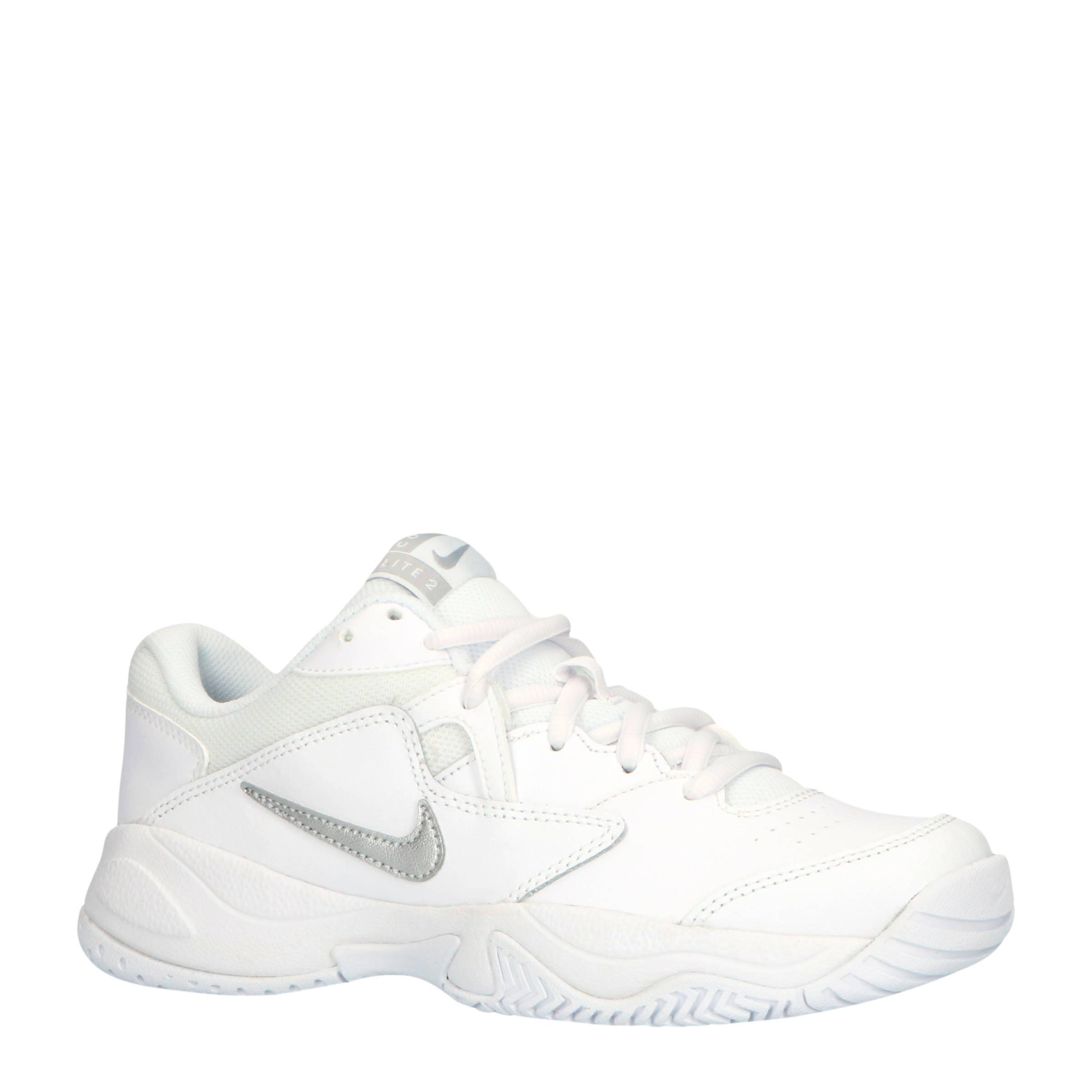 Nike Court Lite 2 Hardcourt tennisschoen voor dames Wit online kopen