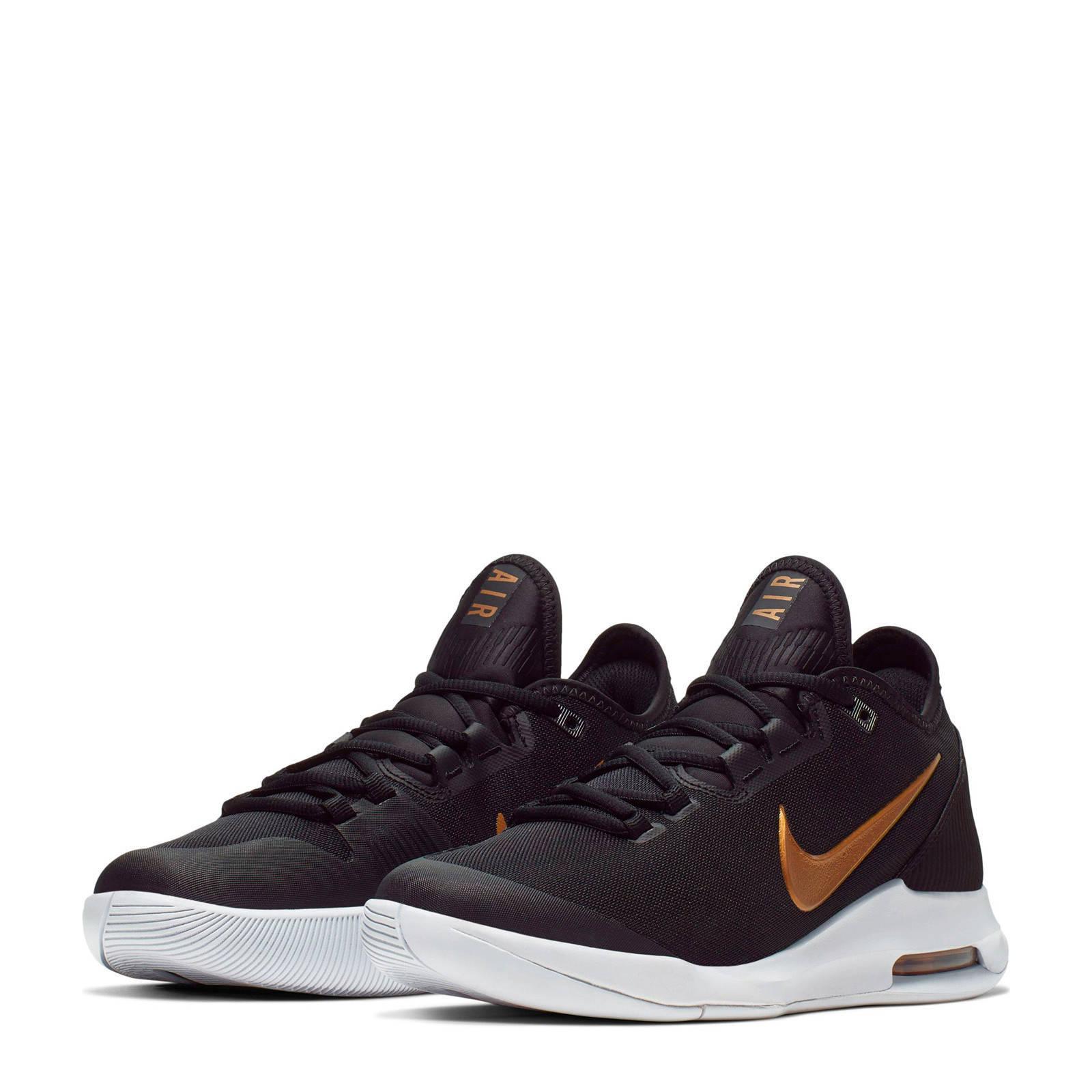 Nike Air Max Wildcard Hc tennisschoenen zwartmetallic goud