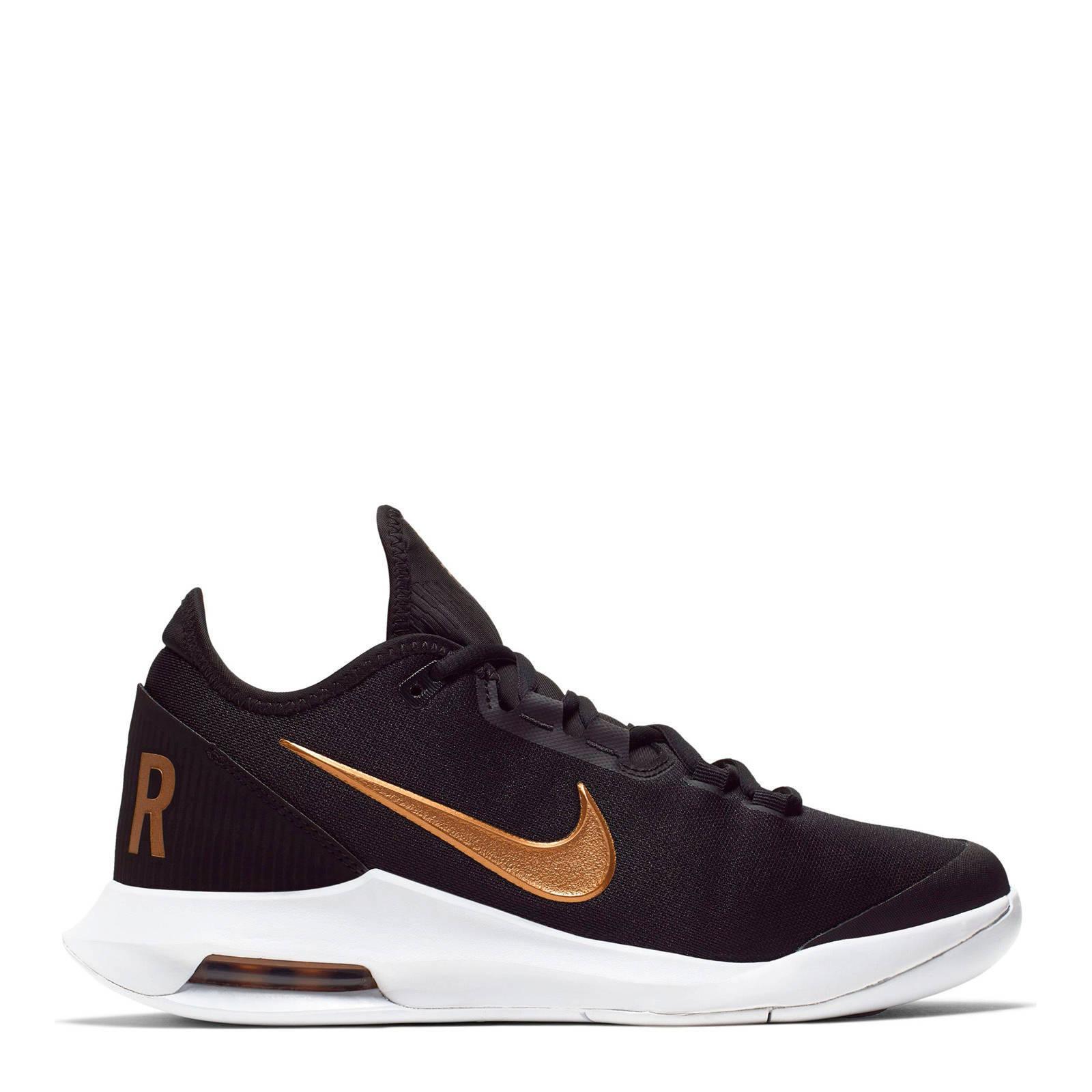 Nike Air Max Wildcard Hc tennisschoenen zwart/metallic goud ...