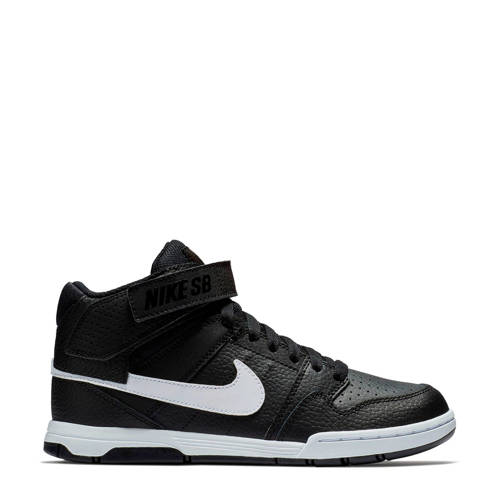 Nike SB MOGAN MID 2 JR (GS) leren sneakers zwart/w