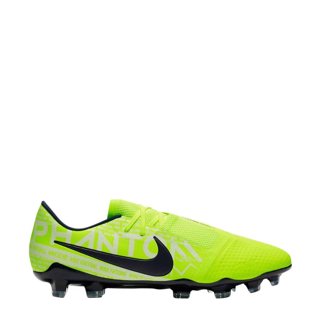 Nike   Phantom Venom Pro FG voetbalschoenen, Geel/wit/zwart