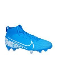 Nike  Jr Superfly 7 Academy FG?MG Jr Superfly 7 Academy MG voetbalschoenen, Kobaltblauw/wit