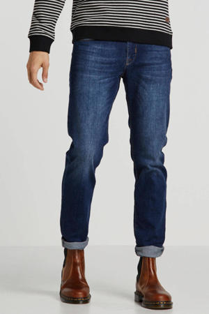 tapered fit jeans Bergamo blue stone