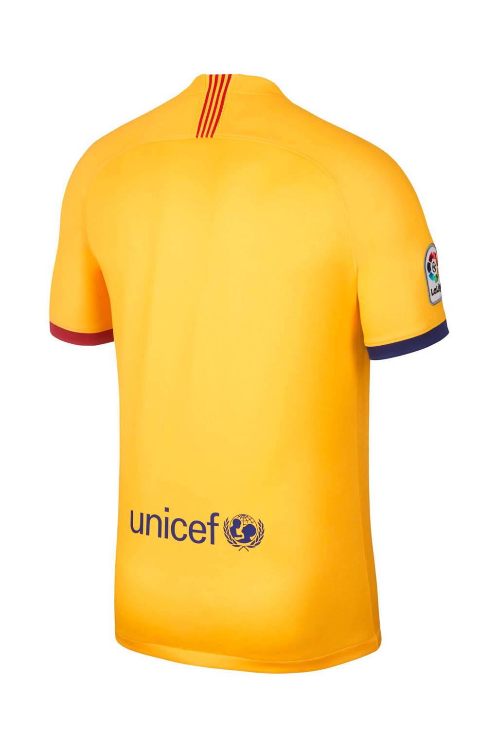 Fc Barcelona Zitzak.Nike Senior Fc Barcelona Voetbalshirt Uit Wehkamp