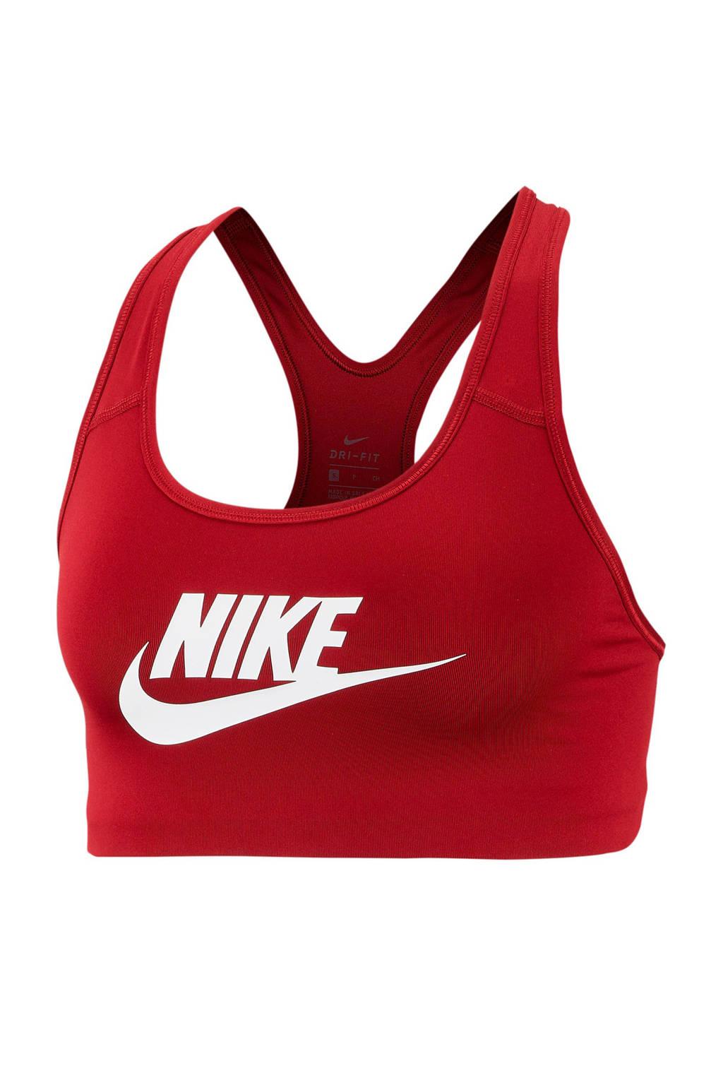 Nike sportbh rood, Rood