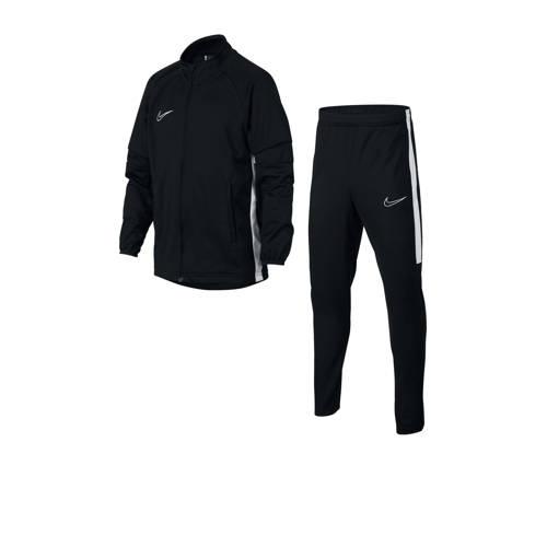 Nike Junior trainingspak zwart/wit