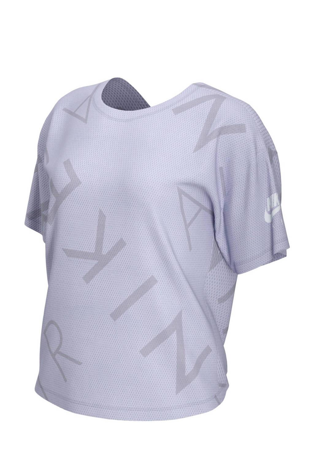 Nike Air hardloop T-shirt lavendel, Lavendel