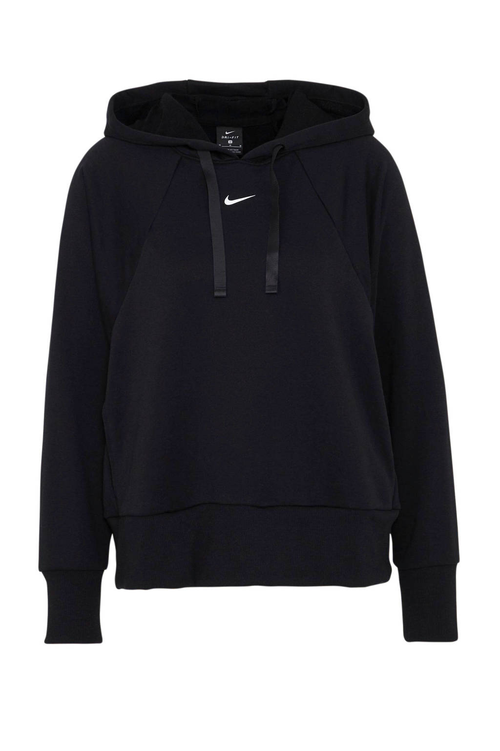 Nike Pro sportsweater zwart, Zwart/wit