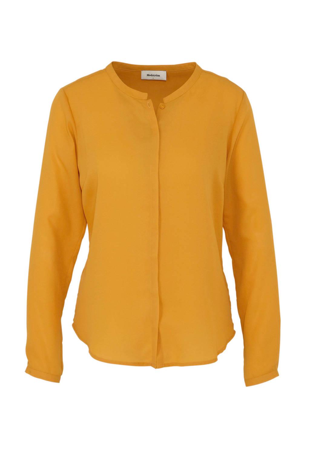 Modström blouse Cyler geel, Geel