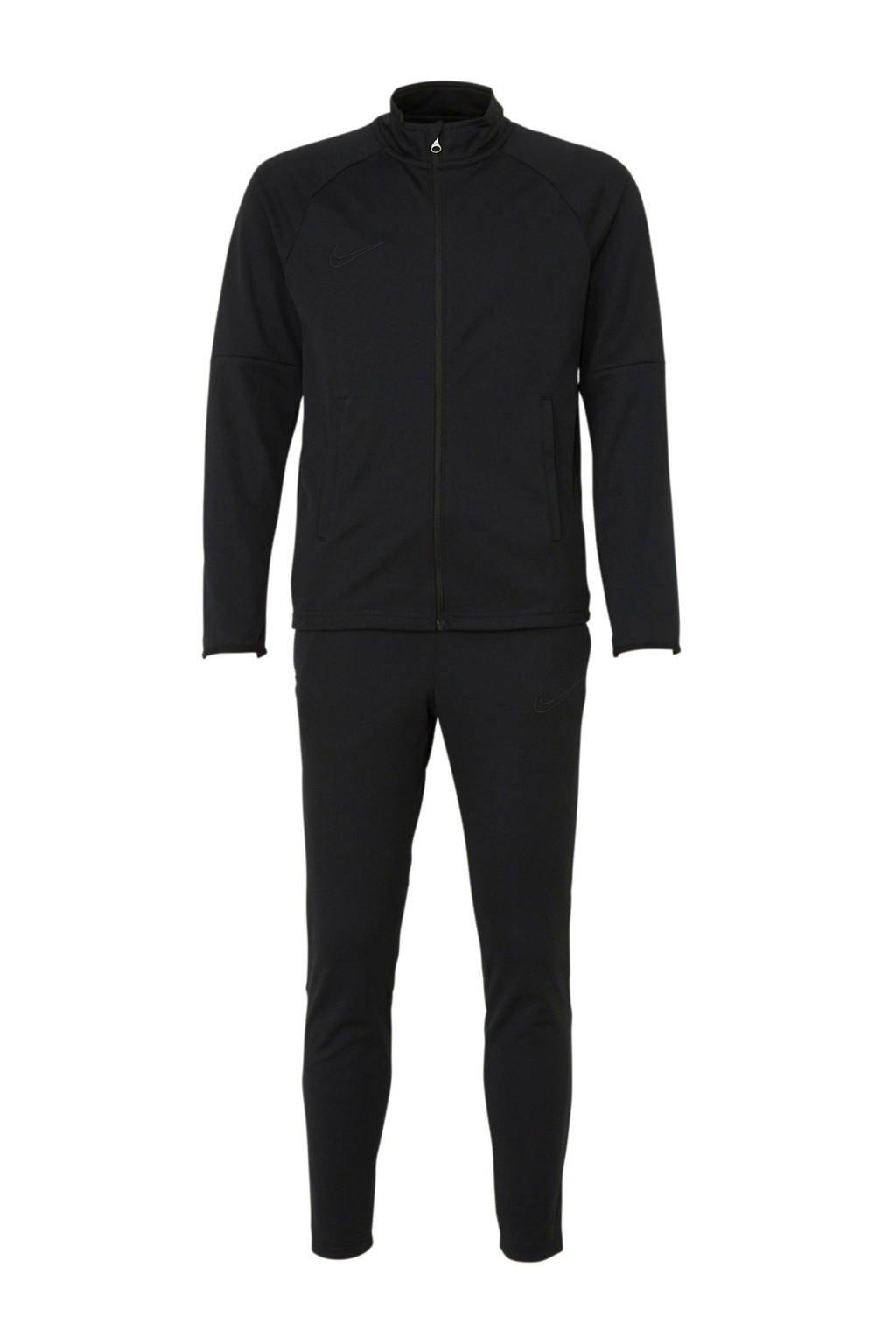 Nike Junior  trainingspak zwart, Zwart