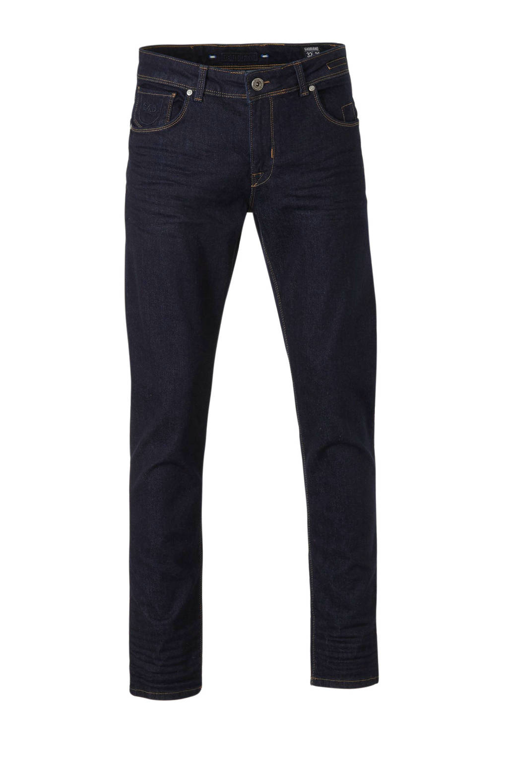 GABBIANO tapered fit jeans Bergamo, Blue rinsed