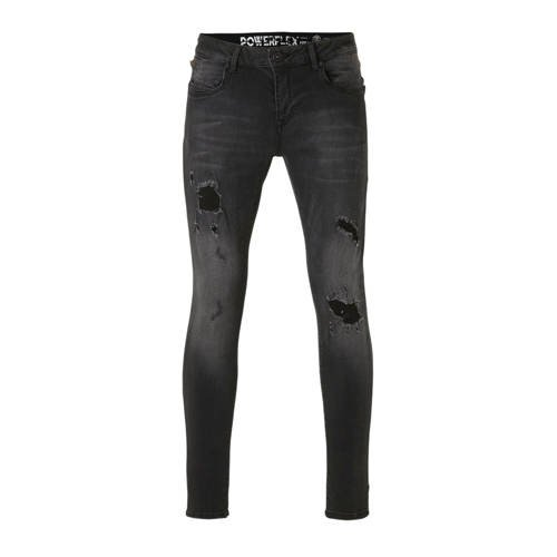 GABBIANO skinny jeans Ultimo black destroyed