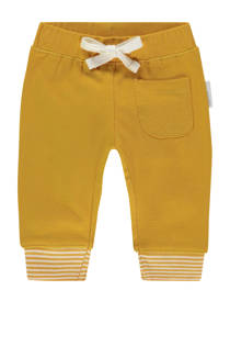 Noppies   baby regular fit joggingbroek Quaqua oker