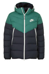 Nike winterjas groen/donkerblauw, Groen/donkerblauw