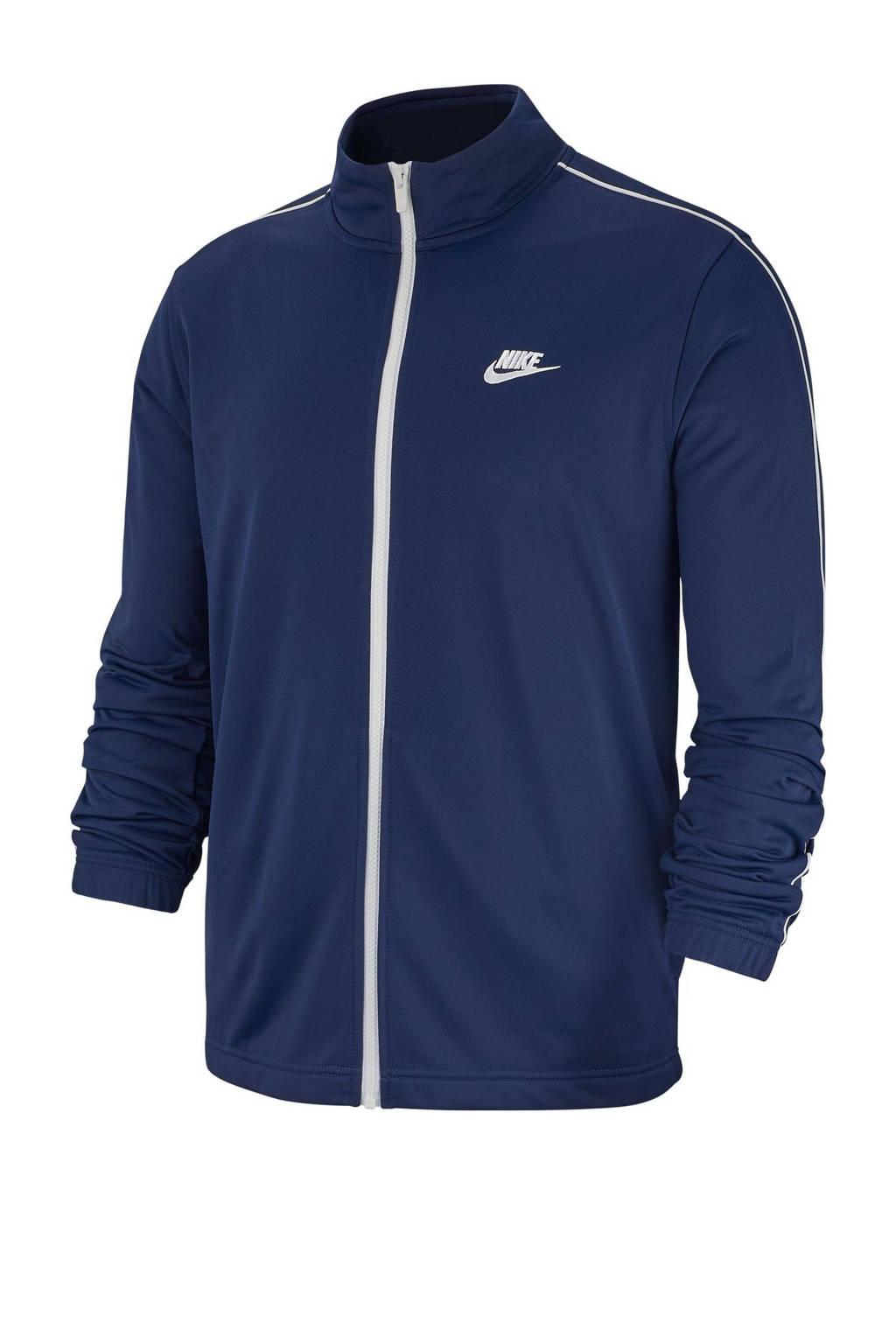 Nike   trainingspak donkerblauw, Donkerblauw