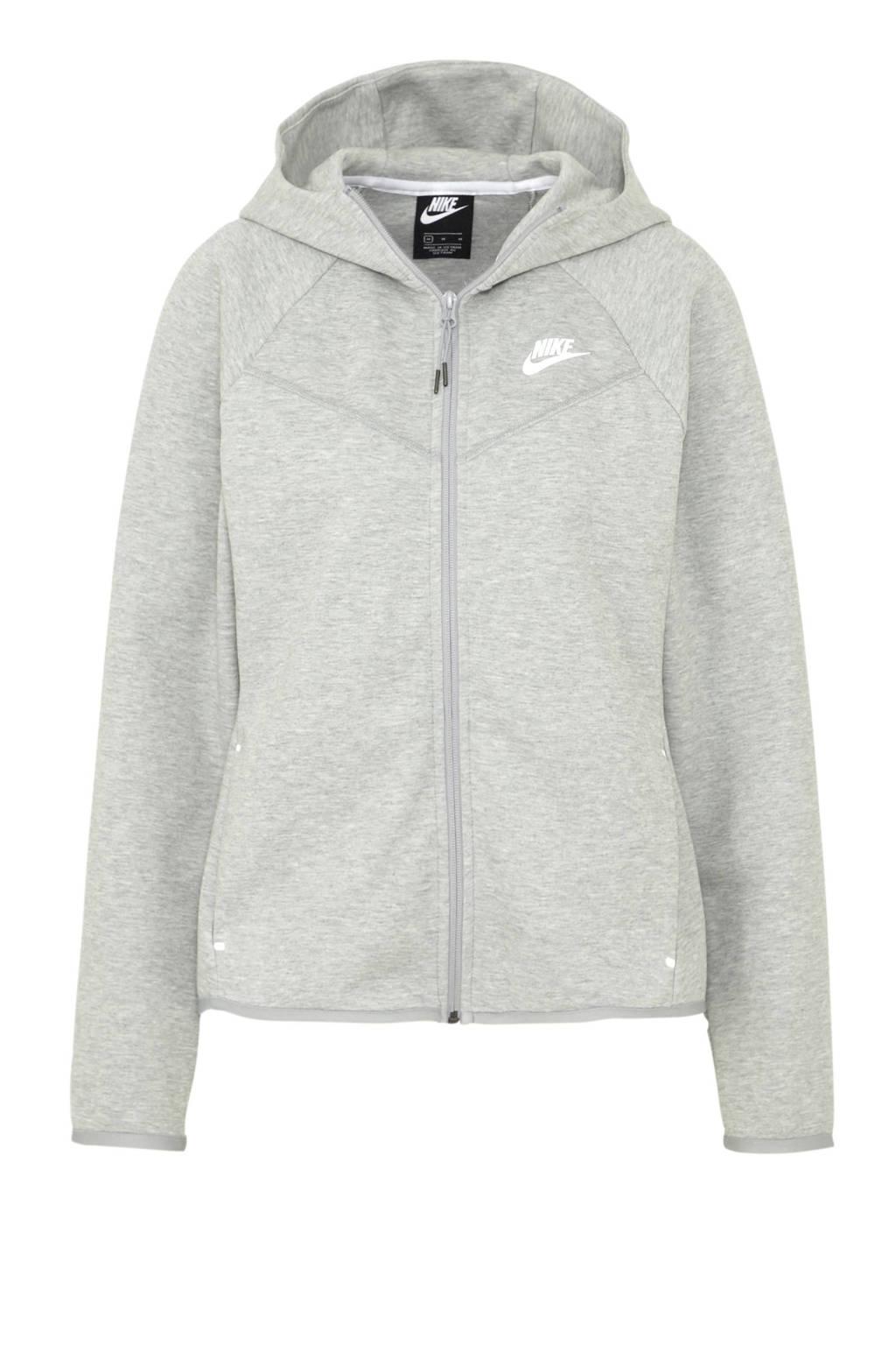 Nike Tech Fleece vest grijs, Grijs