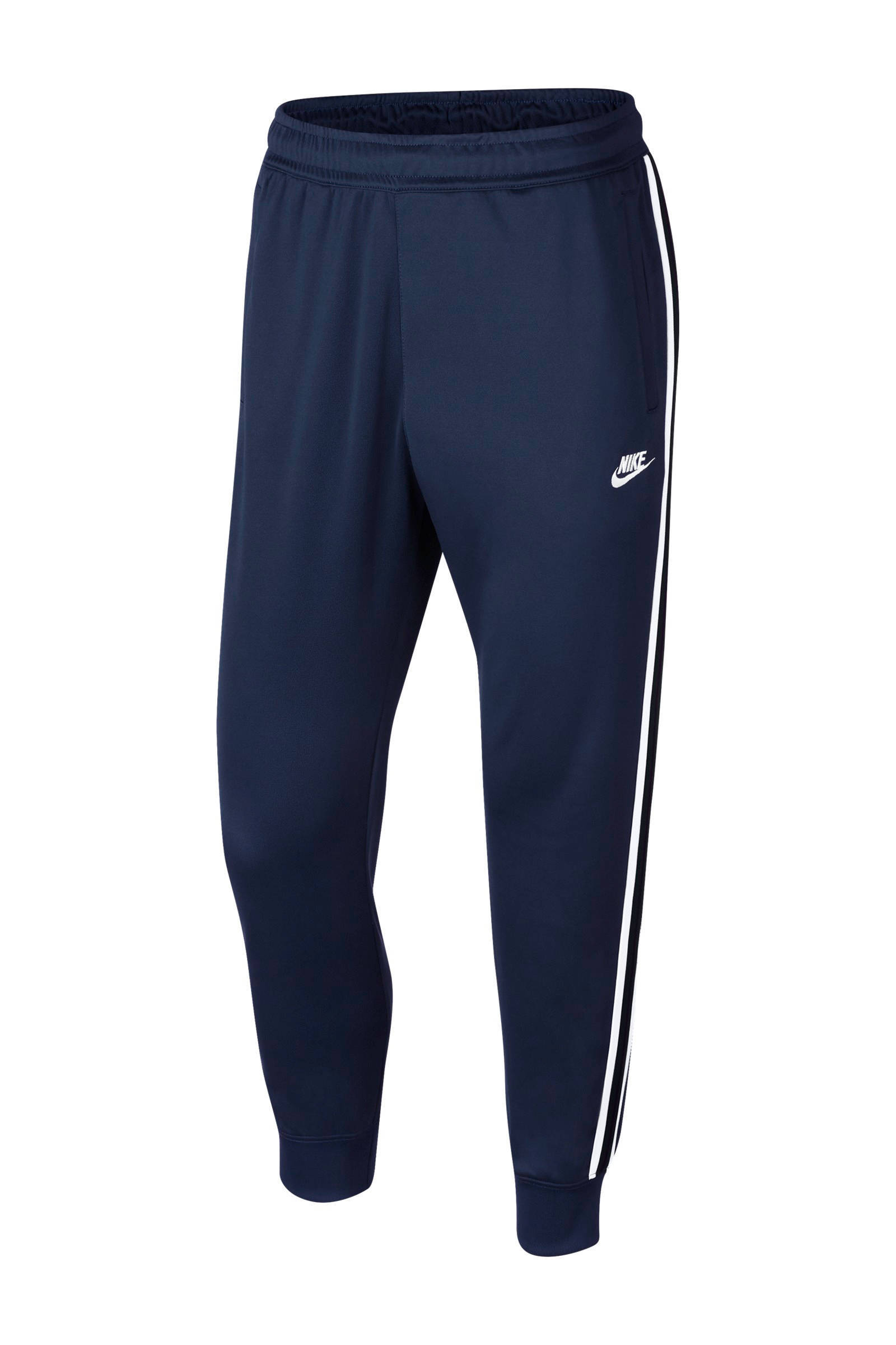 Nike sportbroek zwartgoud   wehkamp