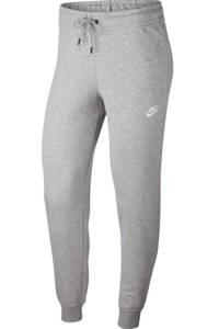 Nike joggingbroek grijs melange, Grijs melange/wit
