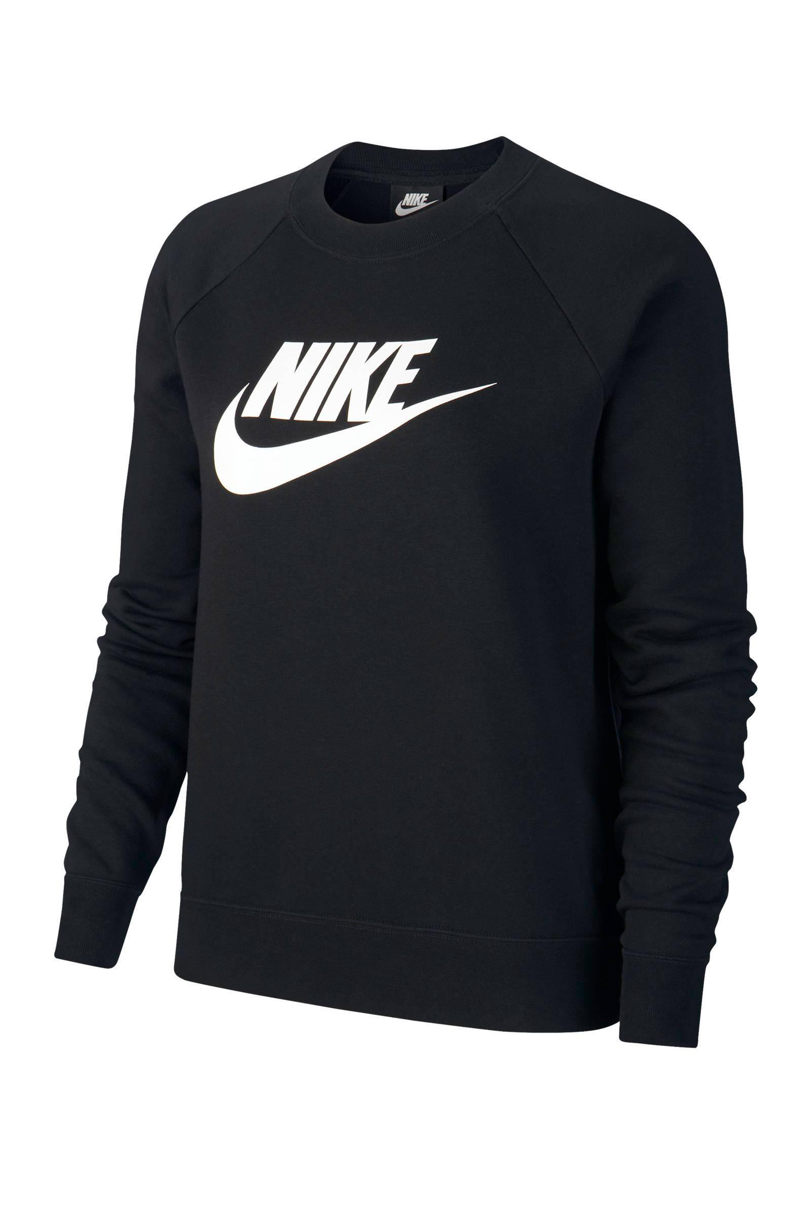 Nike sweater geel | wehkamp
