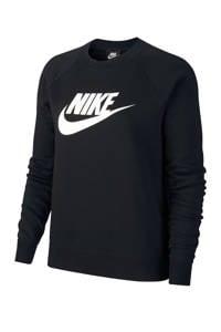 Nike sweater zwart, Zwart/wit