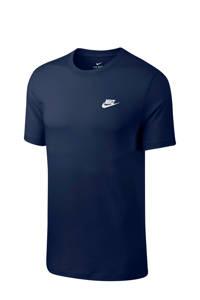 Nike T-shirt donkerblauw, Blauw