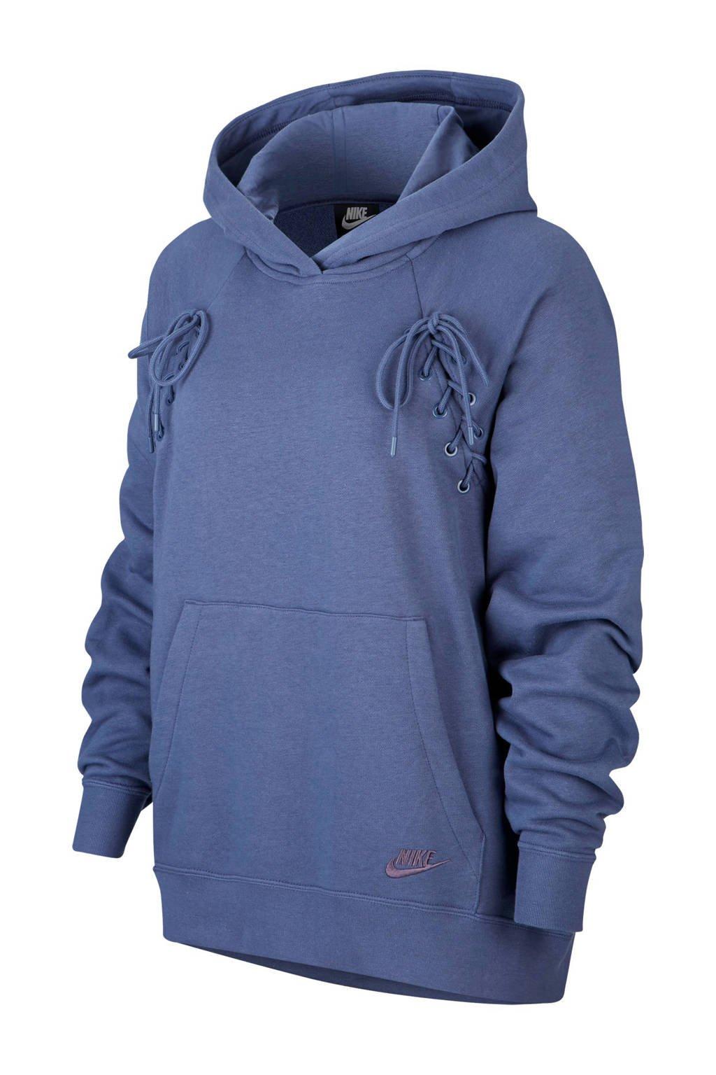 Nike hoodie, Paars