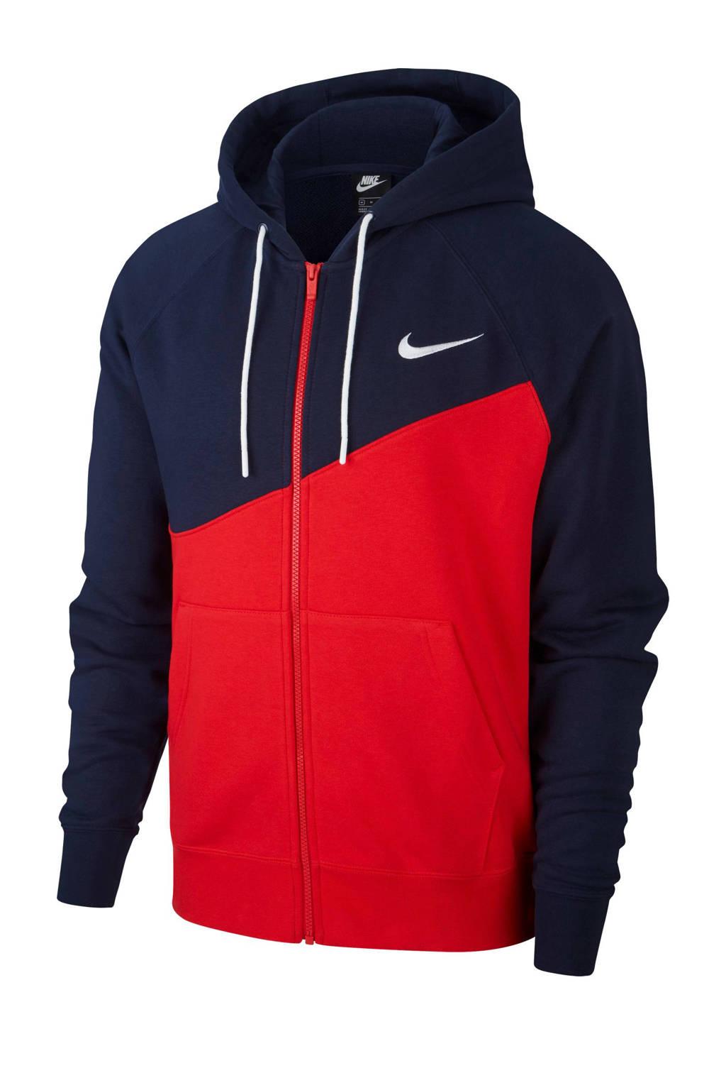 Nike   vest donkerblauw/rood, Donkerblauw/rood