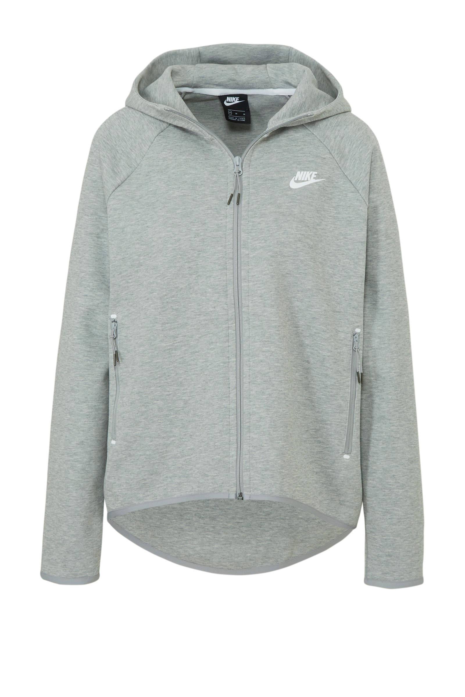 Nike Tech Fleece vest grijs | wehkamp