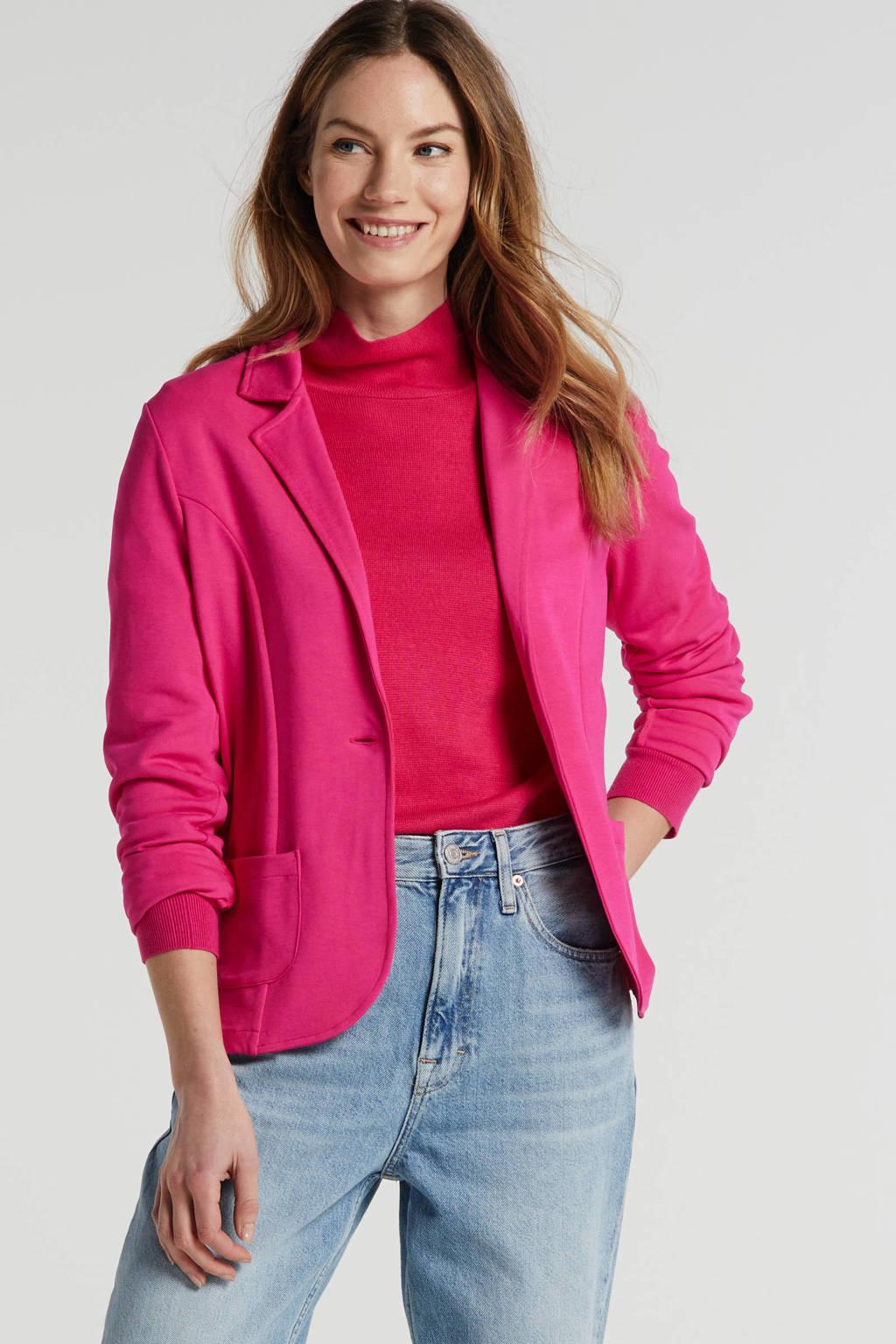 Inwear fijngebreide coltrui roze, Roze
