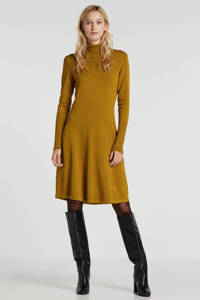Inwear fijngebreide jurk camel, Camel