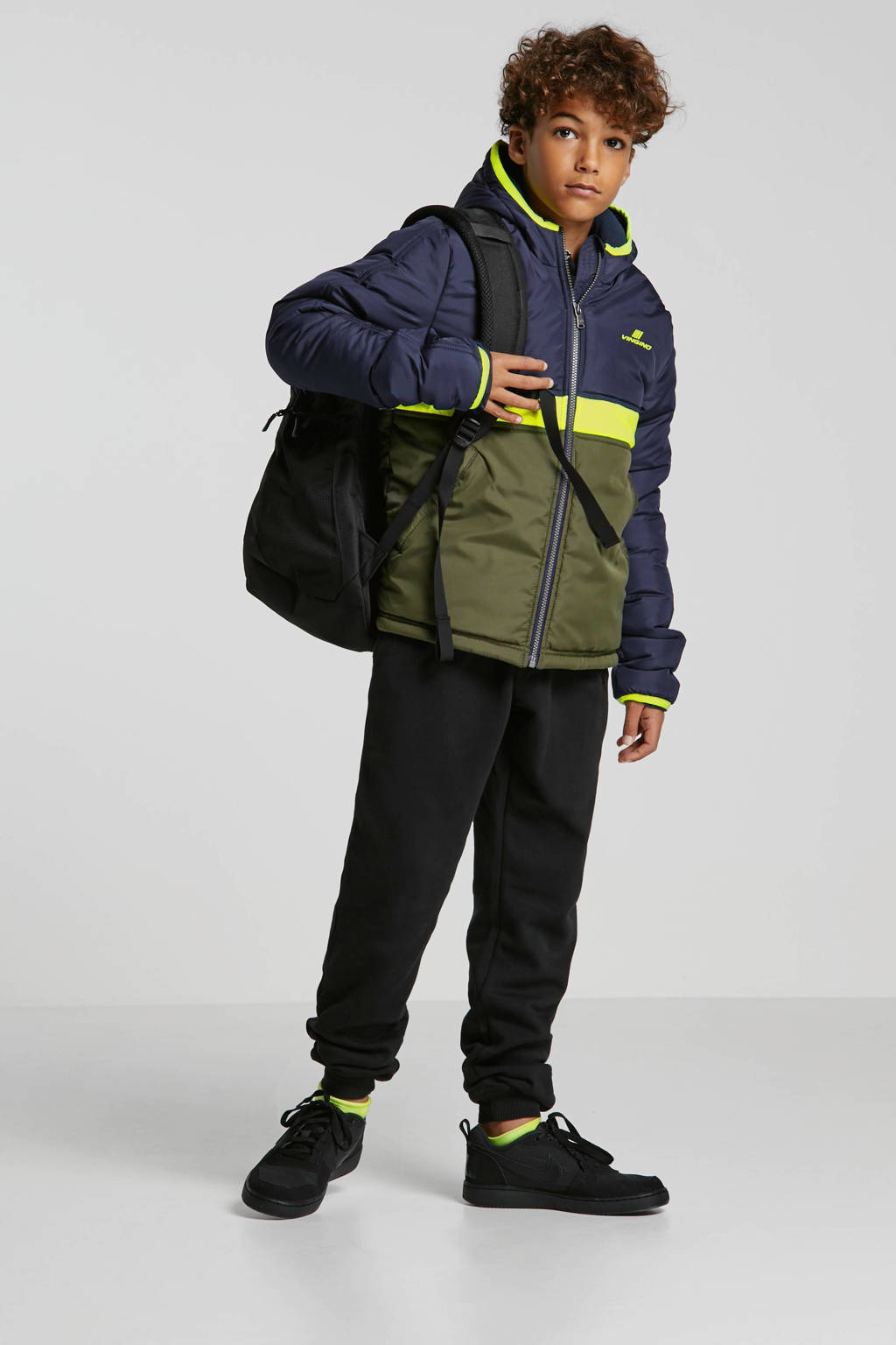 Nike Court Borough Mid sneakers mid zwart, Zwart