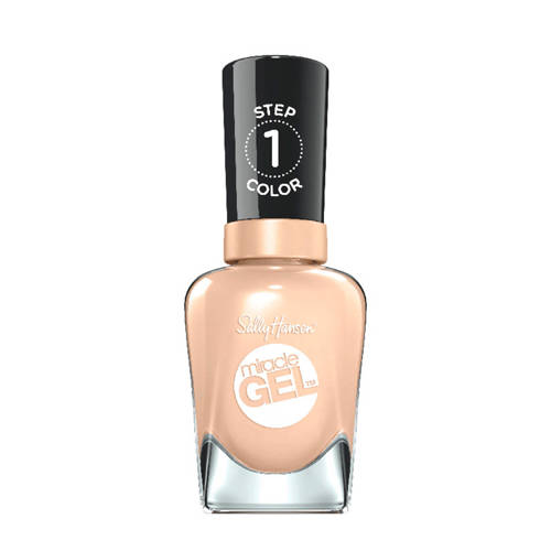Sally Hansen Miracle Gel Color Coat gelnagellak 120 Bare Dare