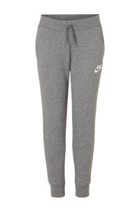 Nike regular fit joggingbroek grijs melange, Grijs melange