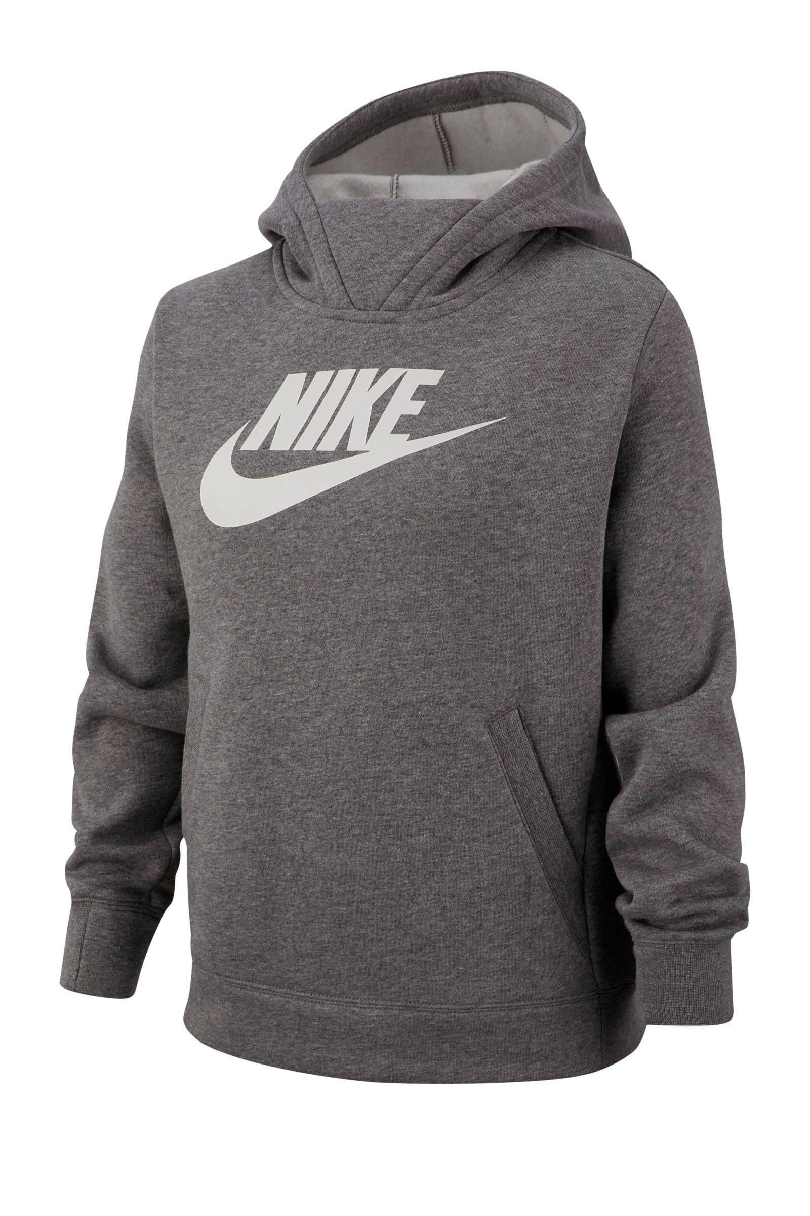 Nike sweater met printopdruk rood | wehkamp