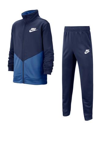 trainingspak donkerblauw/blauw