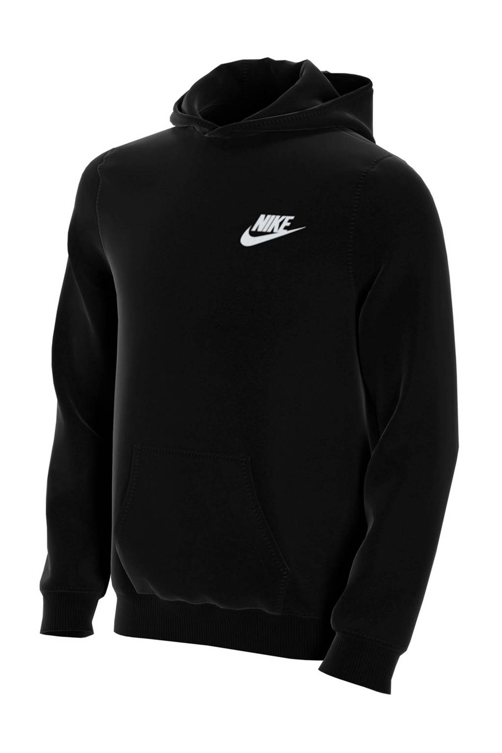 Nike hoodie zwart, Zwart/wit