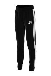 Nike sportbroek zwart, Zwart/wit