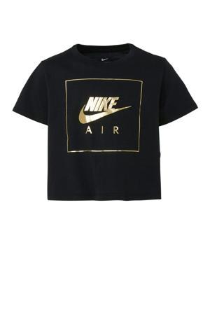 Air cropped T-shirt