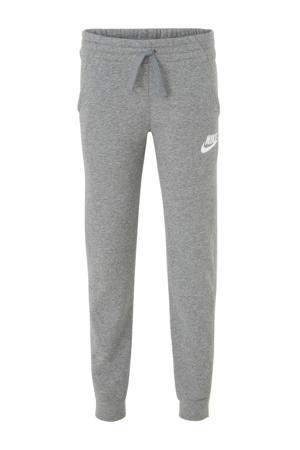 regular fit joggingbroek grijs