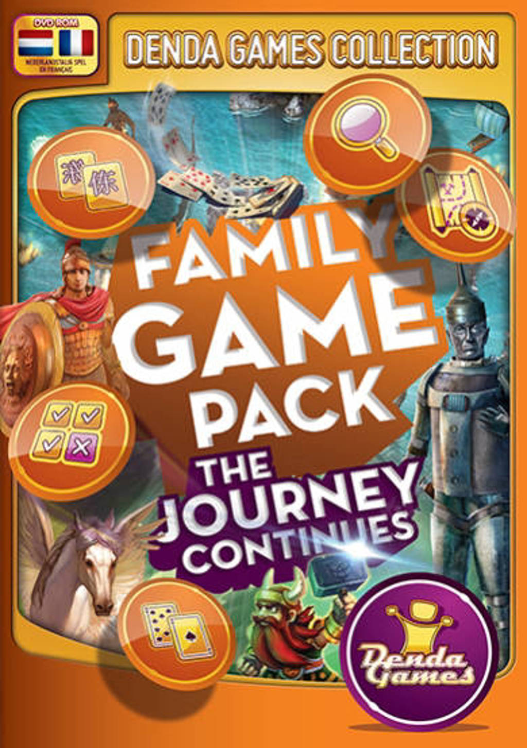 Family game pack - The journey continues (PC)