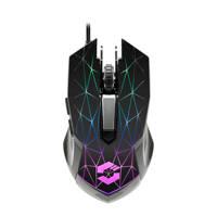 Speedlink  RETICOS RGB gaming muis zwart, Zwart